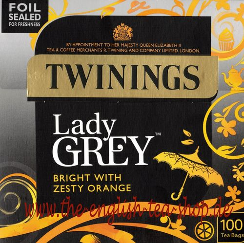 Twinings Lady Grey 100 Teebeutel (250g)