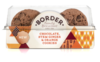 Border Biscuits Chocolate, Stem Ginger & Orange Cookies 150g