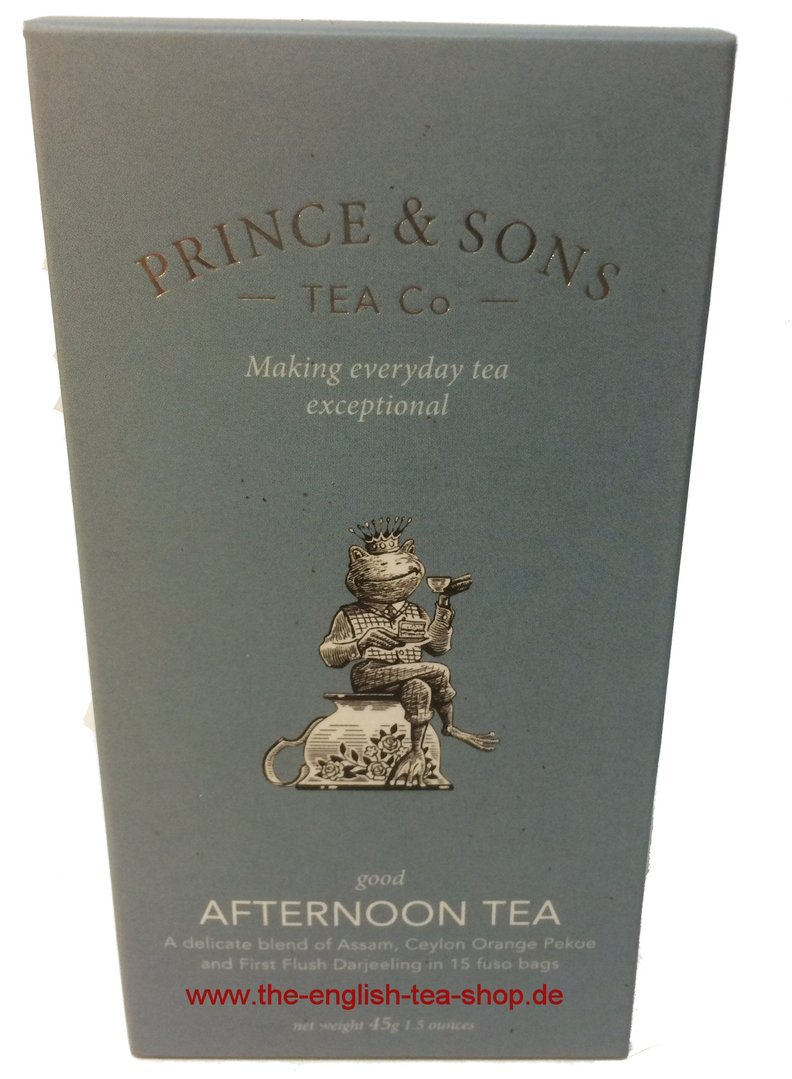 Prince Amp Sons Good Afternoon Tea 15 Pyramid Tea Bags