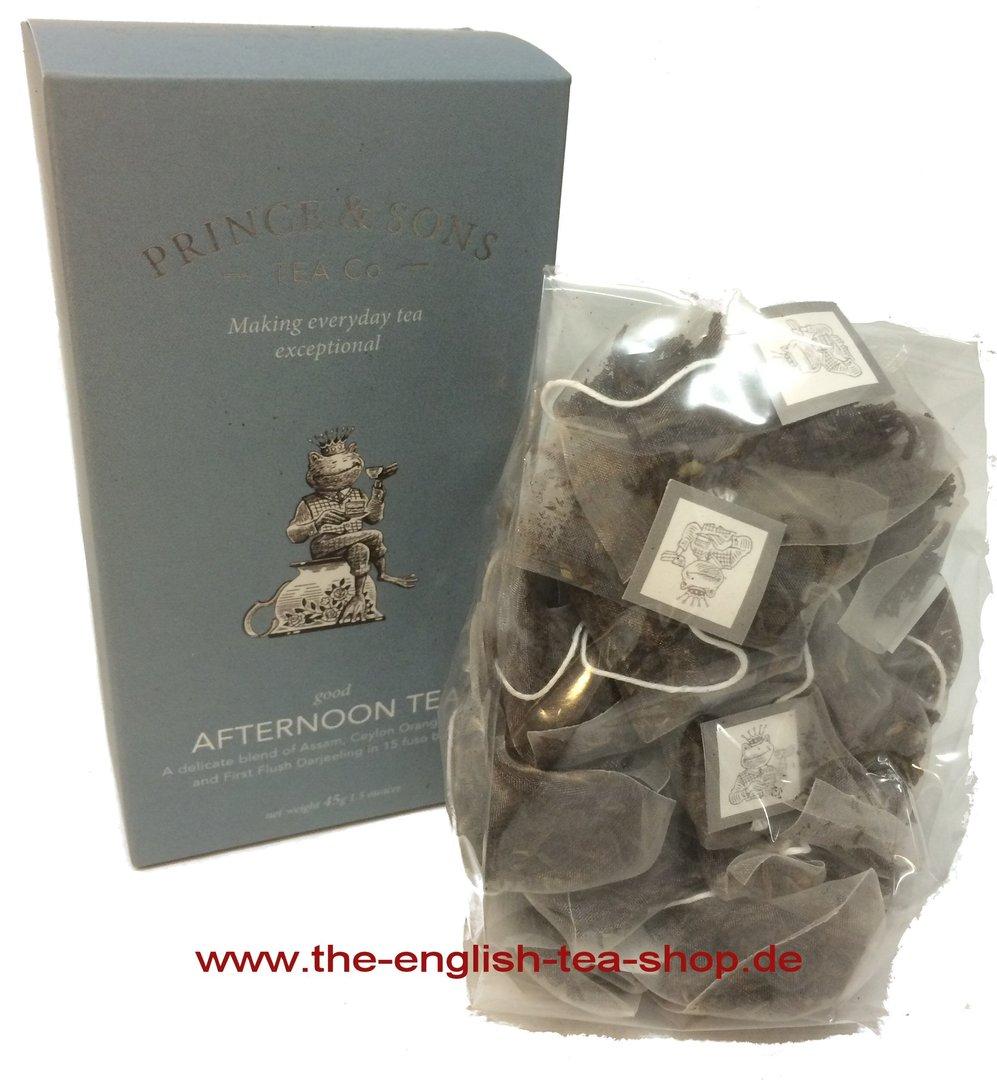 Prince Amp Sons Good Afternoon Tea 15 Pyramid Tea Bags
