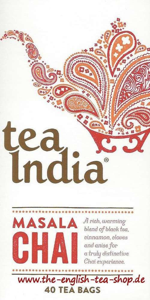 Tea India Masala Chai 40 Bags 100g