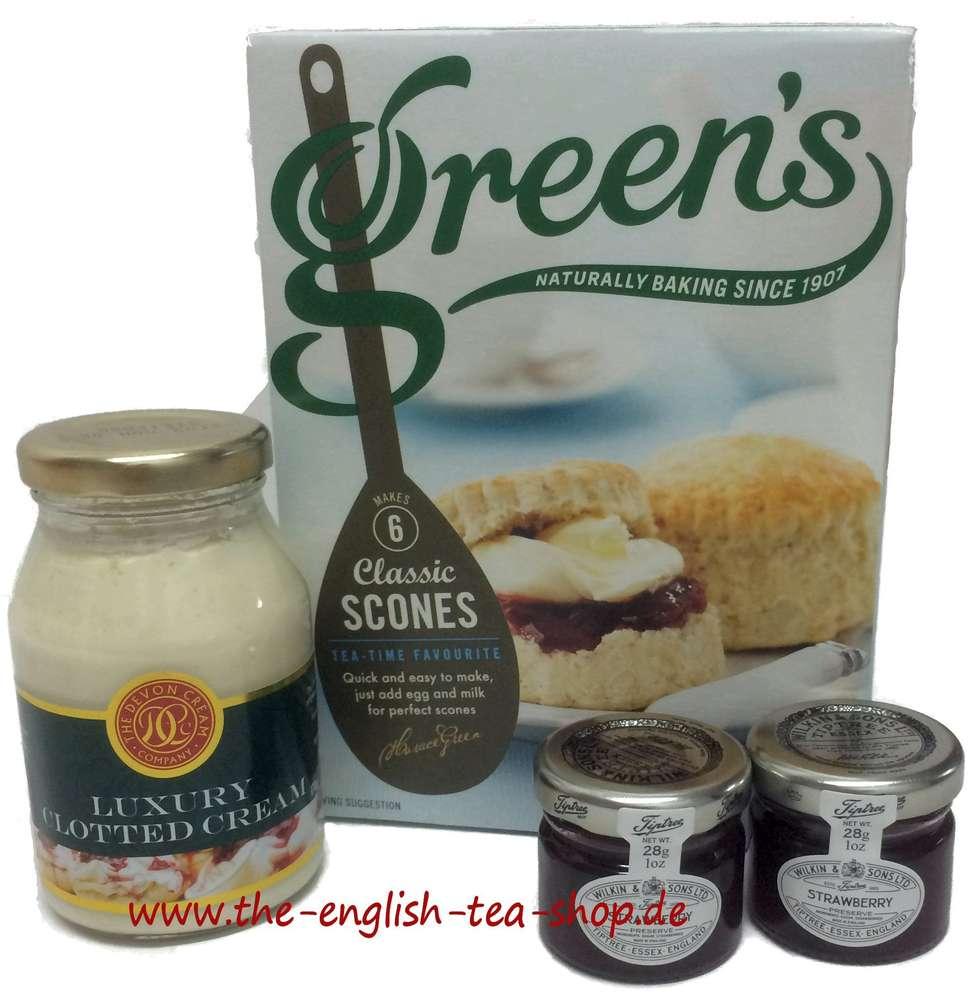 English Afternoon Cream Tea Set Angebot Mit Konfitüre Gratis