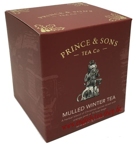Prince & Sons Mulled Winter Tea 15 Pyramidenbeutel (37,5g)