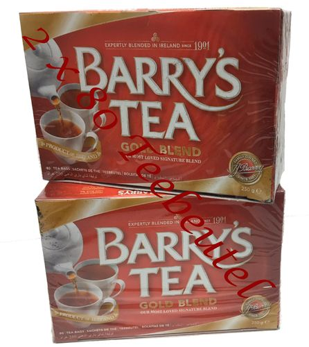 Barry's Tea Gold Blend 2 x 80 Teebeutel (2 x 250g)