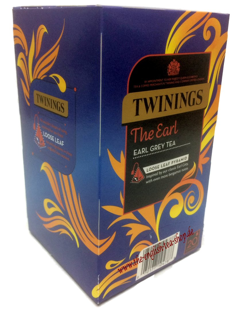 Twinings The Earl Earl Grey 20 Pyramid Tea Bags