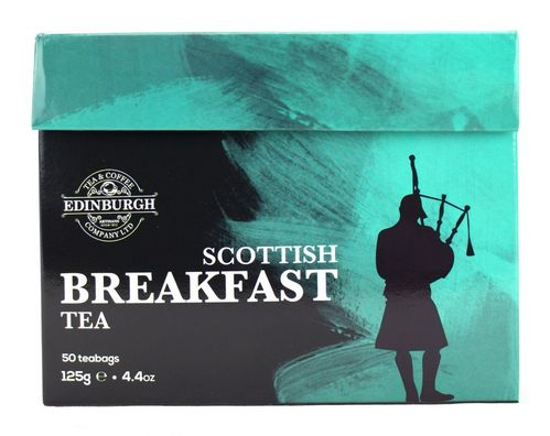 Edinburgh Tea & Coffee Co Scottish Breakfast Tea 50 Tea Bags (125g) - Special Offer