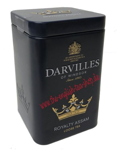 Darvilles of Windsor Royalty Assam 100g Loser Tee Dose