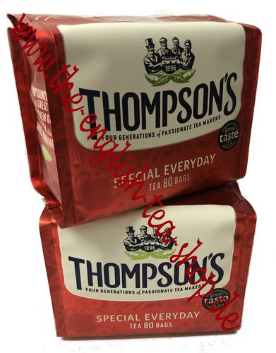 Thompson's Special Everyday 2 x 80 Tea Bags (2 x 250g)