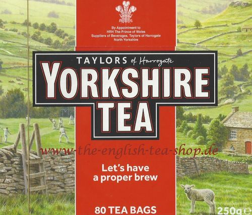 Taylors of Harrogate Yorkshire Tea 80 Tea Bags (250g) - Weekly Offer