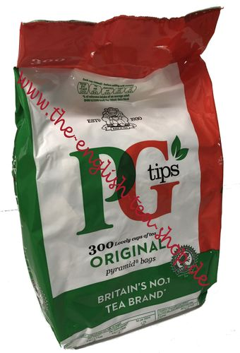 PG Tips Tea 300 Pyramid Bags (870g) - Special Offer