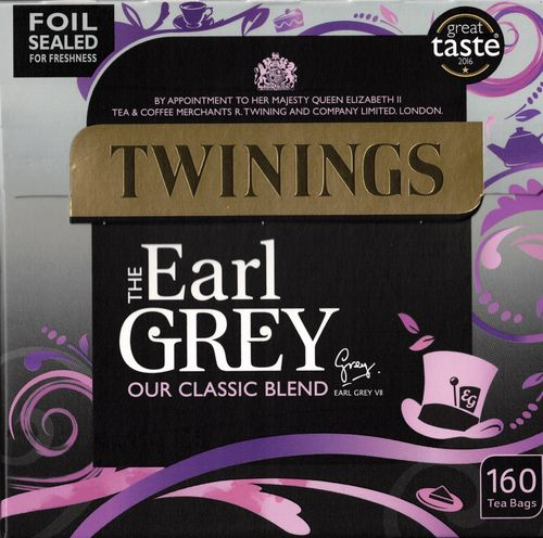 Twinings Earl Grey 160 Tea Bags (400g)