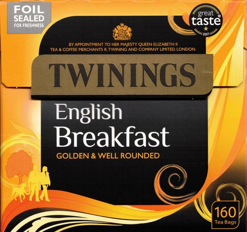 Twinings English Breakfast 160 Teebeutel (400g)
