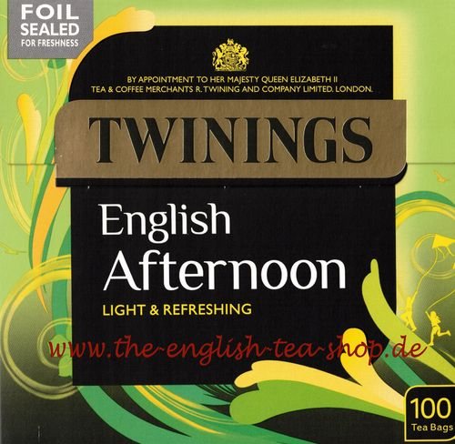 Twinings English Afternoon 100 Teebeutel (250g)