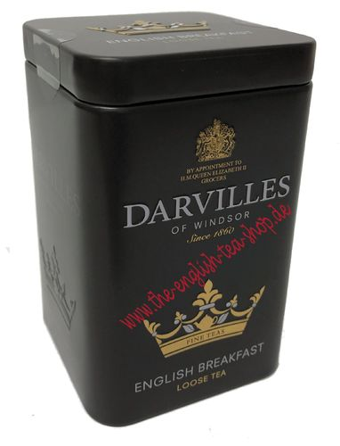 Darvilles of Windsor English Breakfast 100g Loser Tee Dose