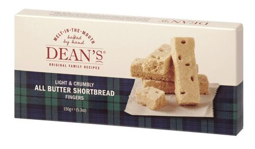 Dean's All Butter Shortbread Fingers 150g