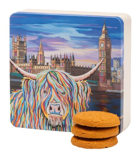 Wee Ben McCoo All Butter Stem Ginger Cookies Gift Tin 160g