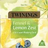 Twinings Fennel & Lemon Zest 20 Pyramid Tea Bags (40g)